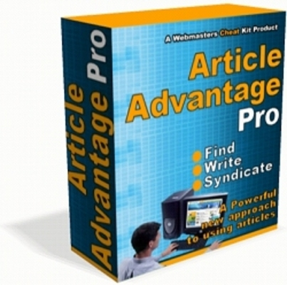 Pay for **New** Article Advantage Pro With Resell Rights