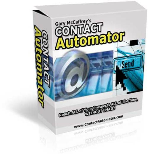 Pay for Contact Automator:  Follow Your Prospects Until They Buy