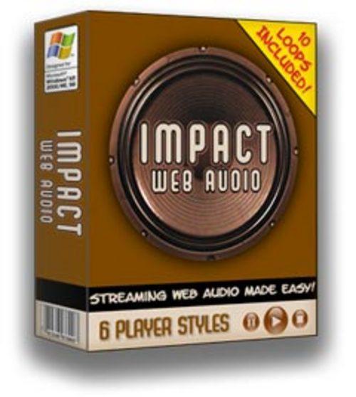 Pay for Impact Web Audio Audioplayer für Webseiten Master Reseller