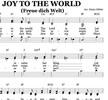 Thumbnail Freue Dich Welt - Weihachtslied - Chornoten