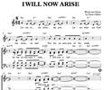 Thumbnail I will now arise - Chornoten SATB