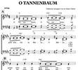 Thumbnail O Tannenbaum - Chornoten 4-stimmig