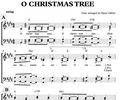 Thumbnail O Christmas Tree - Chornoten