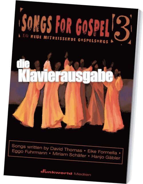 Pay for Songs for Gospel 3 - Songbook für Klavier