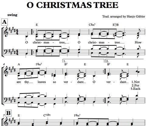 Sheet Music For Mixed Choir