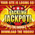 Thumbnail Backlink Jackpot. Beat The Google Game. Full Videos with Master Resell Rights
