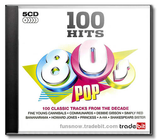 Pay for 100 Pop Hits 80s.  Greatest Collection. MP3