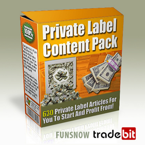 Pay for NEW! 630 Niche Articles With Sales & Download Pages. Private Label Rights Included.