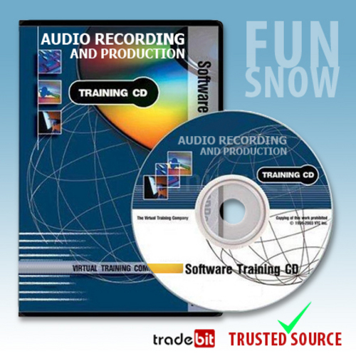 Pay for Audio Recording and Production Virtual Train Video Tutorials