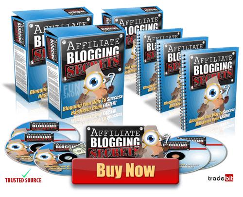 Pay for Affiliate Blogging Secrets. Download now and get Master Resale Rights Plus Bonus