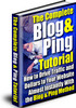 Thumbnail The BLOG AND PING TUTORIAL With Plr