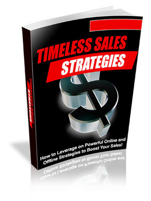 Pay for Timeless Sales Strategies With Plr
