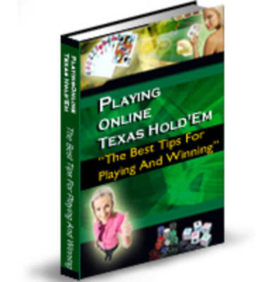 Pay for PLAYING ONLINE TEXAS HOLDEM WITH PLR