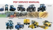 Thumbnail NEW HOLLAND T7510, T7520, T7530, T7540, T7550 TRACTOR SERVICE MANUAL
