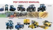Thumbnail NEW HOLLAND CX720, CX740, CX760, CX780, CX820, CX840, CX860, CX880 COMBINE SERVICE MANUAL