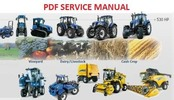 Thumbnail NEW HOLLAND 300FP HEADER AUGER WITH STANDARD PADDLES SERVICE MANUAL
