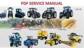 Thumbnail NEW HOLLAND TM120, TM130, TM140, TM155, TM175, TM190 TRACTORS SERVICE MANUAL