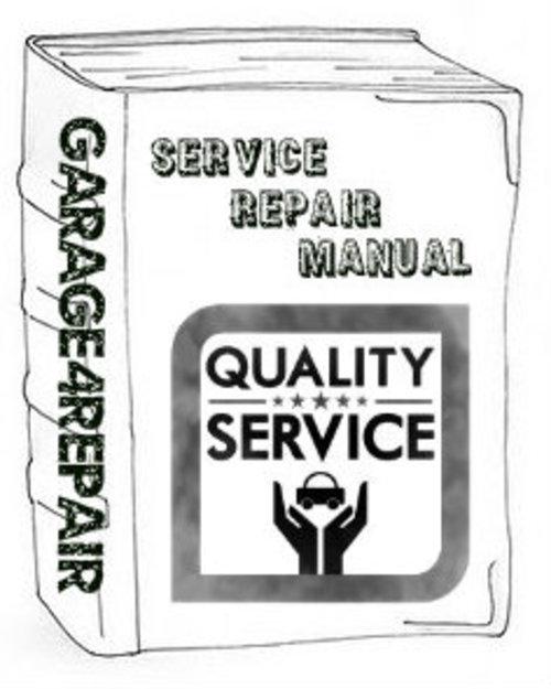 Pay for Suzuki Swift GTI 1989 Repair Service Manual
