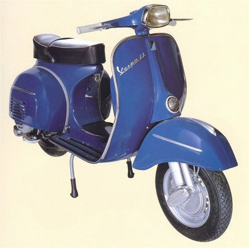 vespa 180 super sport scooter factory service repair. Black Bedroom Furniture Sets. Home Design Ideas