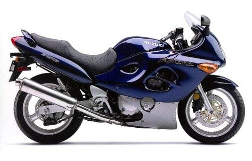 Pay for SUZUKI GSXF750 COMPLETE FACTORY PARTS MANUAL 1988-1997