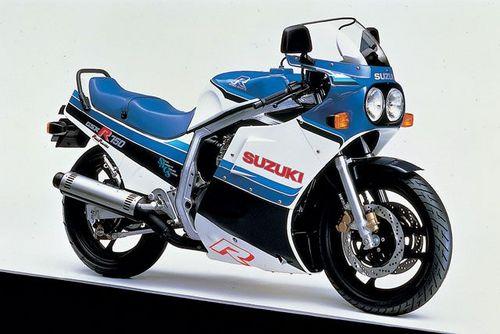 SUZUKI GSXR750 COMPLETE FACTORY PARTS MANUAL 1985-1987