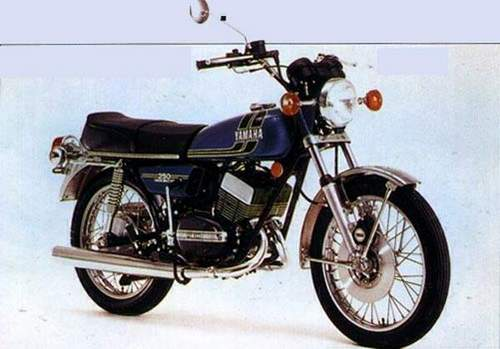 Yamaha Rd250 And Rd350 Factory Repair Manual 1970