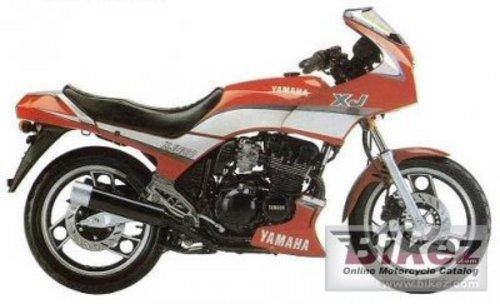 YAMAHA XJ600 FULL SERVICE REPAIR MANUAL DOWNLOAD 1984-1992