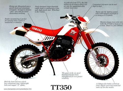 yamaha tt350 factory repair manual 1985 2000 download download ma xt 600 2kf wiring diagram yamaha xt 600 e wiring diagram