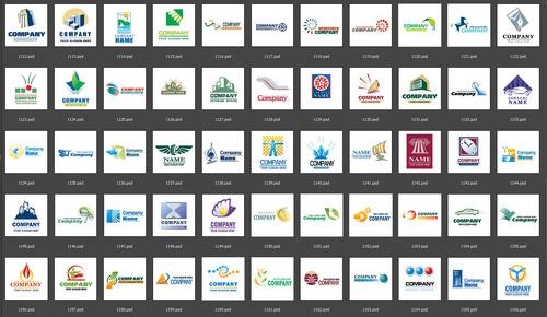 Pay for 190+ Fantastic Web 2.0 .psd Logos - Ready to use
