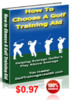 Thumbnail How to Choose a Golf Training Aid