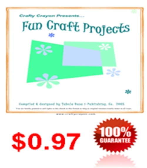 Pay for Fun Craft Projects