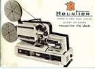 Thumbnail Heurtier P6 - 24b Super 8 & Dual Silent / Sound Projector