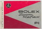 Thumbnail Bolex P1 8mm Movie Camera Manual