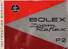 Thumbnail BOLEX P2 8MM MOVIE CAMERA MANUAL