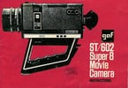 Thumbnail GAF ST602 SUPER 8 CAMERA MANUAL