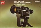Thumbnail GAF SS 805 SOUND SUPER 8 MOVIE CAMERA