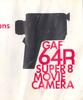 Thumbnail GAF 64R SUPER 8 MOVIE CAMERA MANUAL