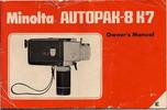 Thumbnail MINOLTA AUTOPAK K7 SUPER 8 CAMERA MANUAL
