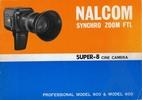 Thumbnail NALCOM SYNCHRO ZOOM FTL 800 & 600 SUPER 8 CAMERA MANUAL