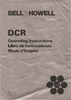 Thumbnail BELL & HOWELL DCR SUPER 8 PROJECTOR MANUAL