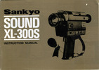 Thumbnail SANKYO SOUND XL-300S SUPER 8 CAMERA MANUAL