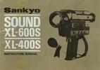 Thumbnail SANKYO SOUND XL-600S & XL-400S SUPER 8 CAMERA MANUAL