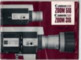 Thumbnail Canon Zoom 518 & 318 Super 8 Camera Manual