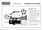 Thumbnail Eumig 807-D Super 8 Projector manual
