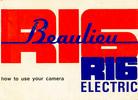 Thumbnail BEAULIEU R16 ELECTRIC 16MM CAMERA MANUAL
