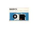 Thumbnail BAUER T4 SUPER 8 PROJECTOR MANUAL