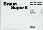 Thumbnail NIZO 148 - 156 MACRO SUPER 8 CAMERA MANUAL