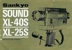 Thumbnail SANKYO XL-40S SUPER 8 CAMERA MANUAL