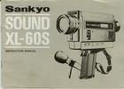 Thumbnail SANKYO XL-60S SUPER 8 CAMERA MANUAL