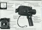Thumbnail SANKYO ES-44XL SUPER 8 CAMERA MANUAL